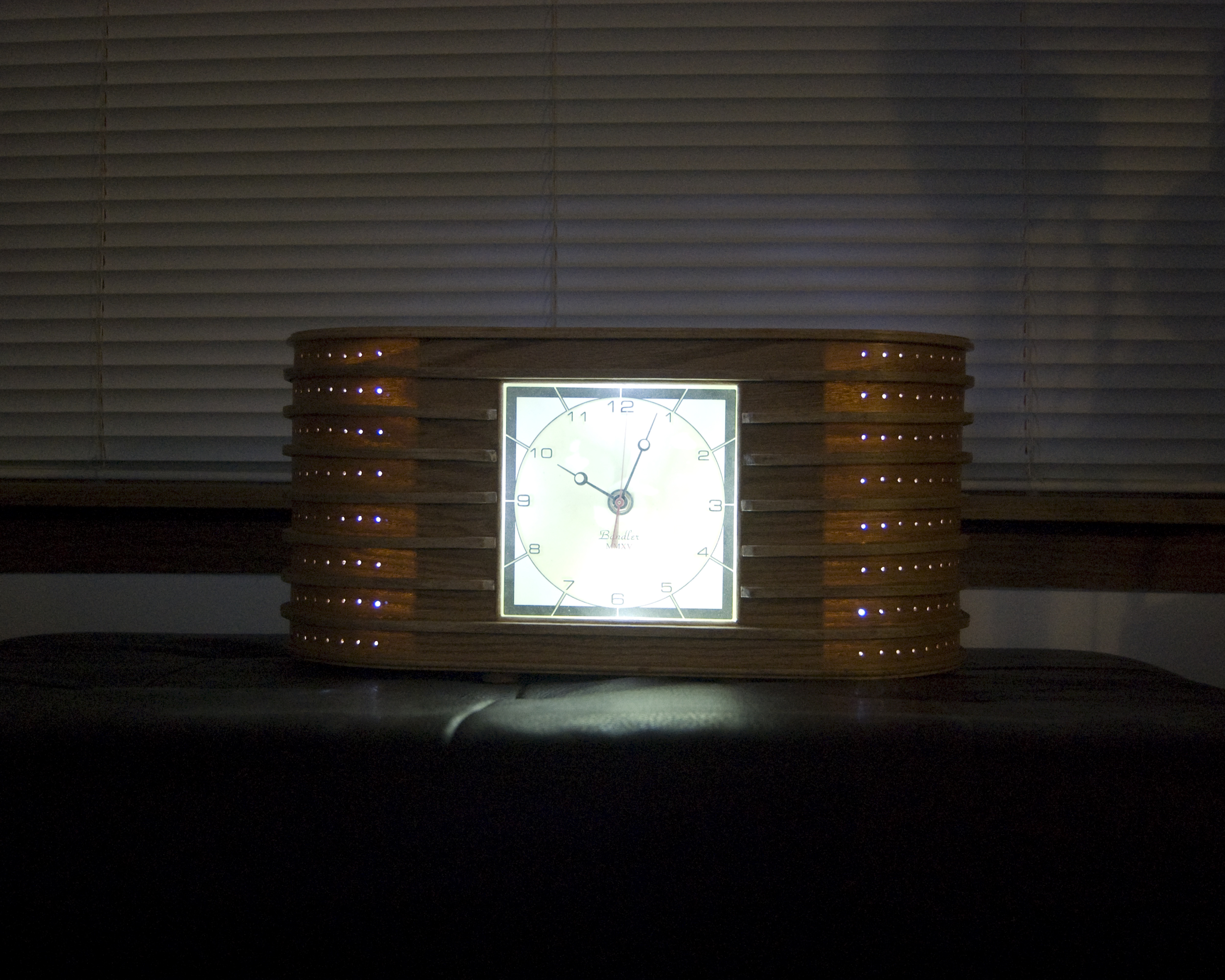Deco Clock #2 Copyright © 2016 David M. Bandler, All Rights Reserved.