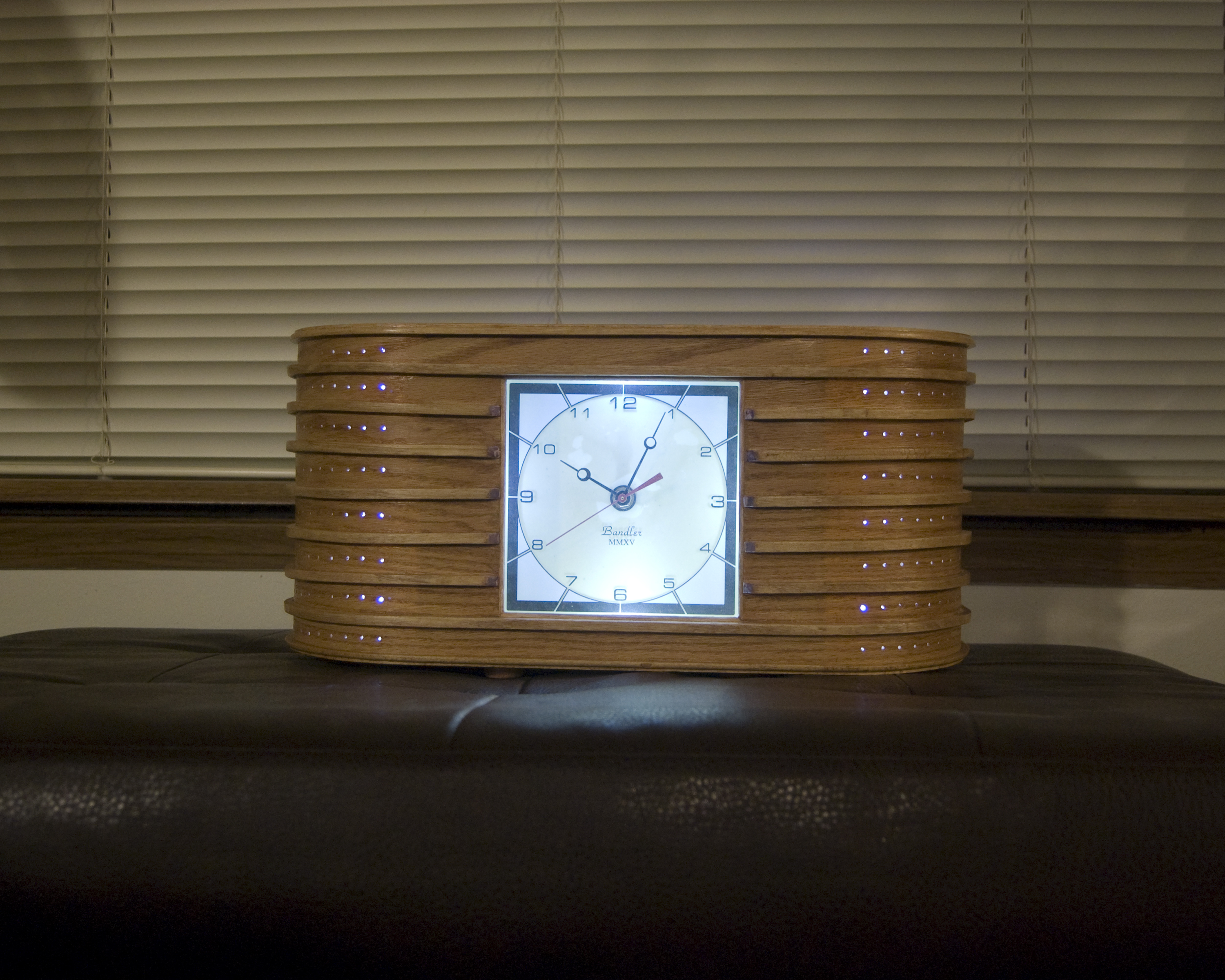 Deco Clock #2 - Copyright ©2016 David M. Bandler, All Rights Reserved.