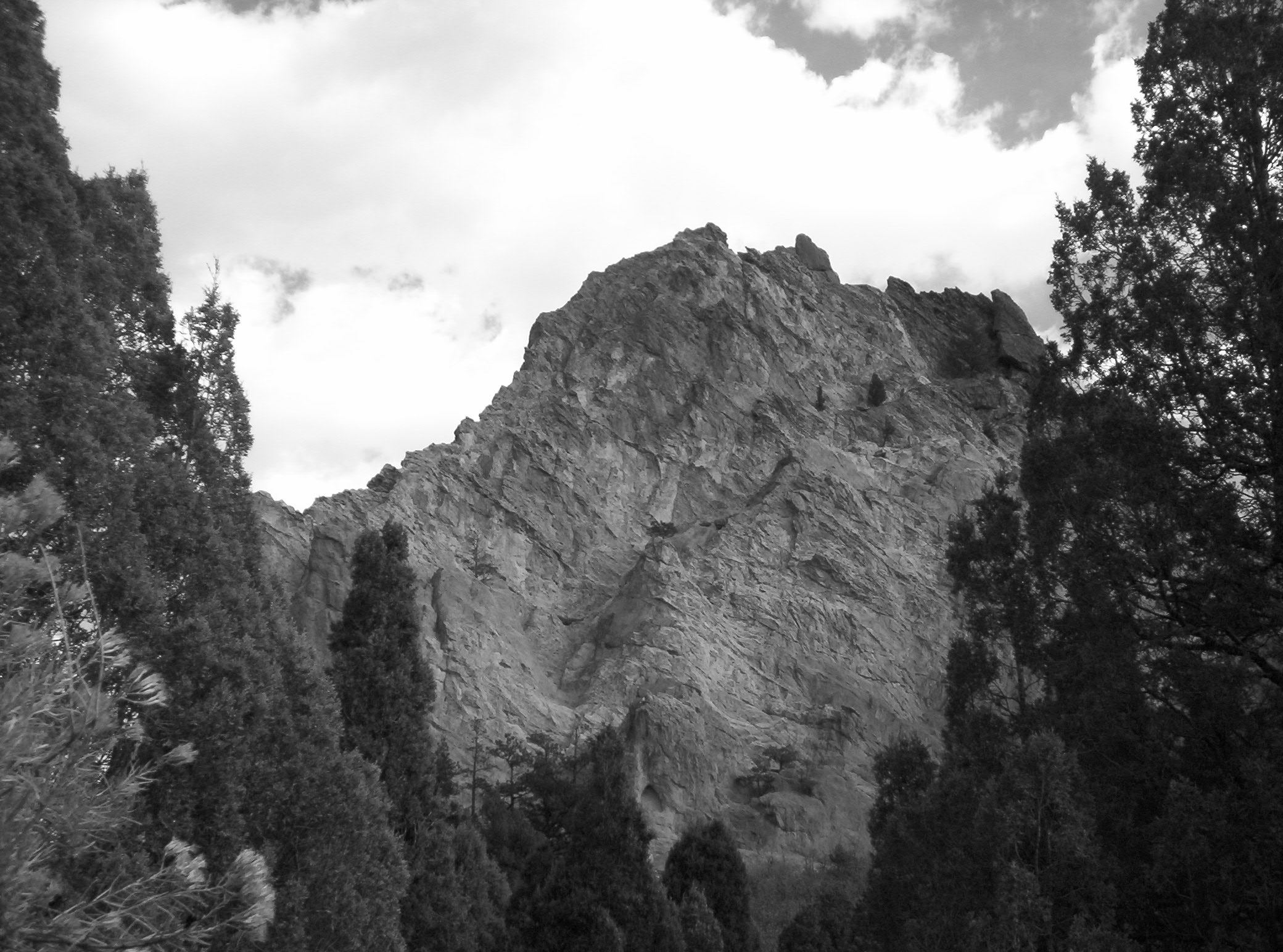 Lonesome Cliff - Copyright ©2008 David M. Bandler, All Rights Reserved.