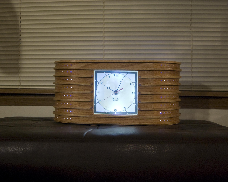 Deco Clock 2 Art Deco Clock Series